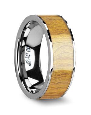 Mens Tungsten Wedding Bands W4474-OWWI Tungsten Wedding Ring