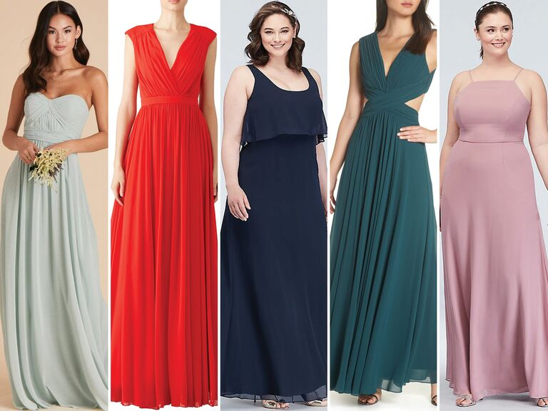 aaa92d43ebdc3 55 Affordable Bridesmaid Dresses That Don't Look Cheap