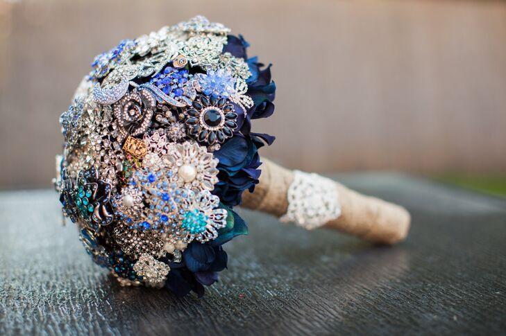 Ornate Brooch Bouquet