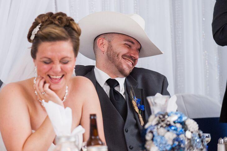 Groomsman's White Cowboy Hat