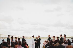 Joey and Michael's Charleston Waterfront Vows