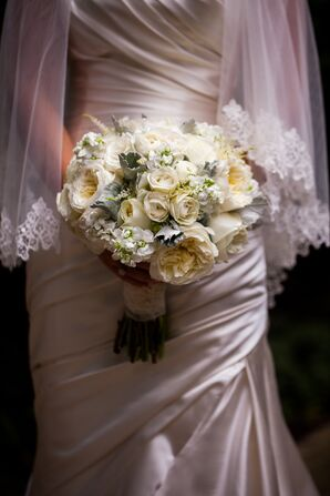Formal White Wedding Bouquet