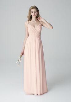 Bill Levkoff 1250 V-Neck Bridesmaid Dress