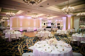 Elegant Langham Hotel Reception