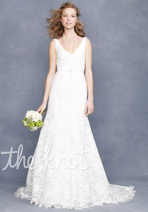 J. Crew Weddings & Parties Sara Lace Gown Wedding Dress - The Knot