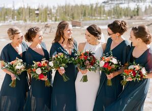 Maxi-Style Bridesmaid Dresses