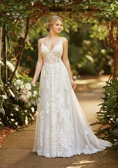 Essense of Australia D3094 A-Line Wedding Dress