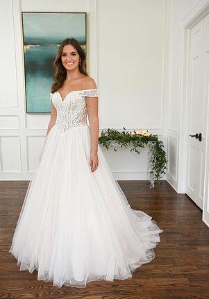 Essense of Australia D3288 A-Line Wedding Dress