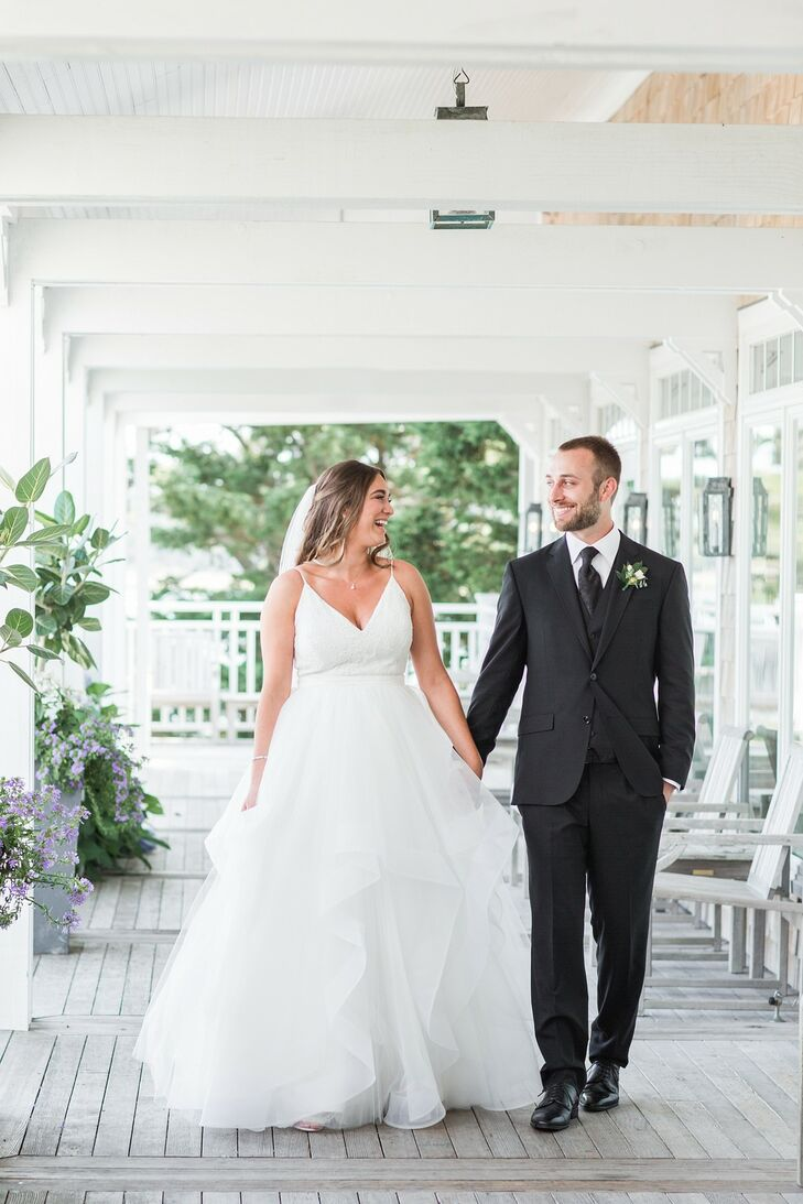 Danielle and Nick Marchessault met on Cape Cod when they were 14 years old—so it's only fitting that they exchanged vows on the Massachusetts peninsul