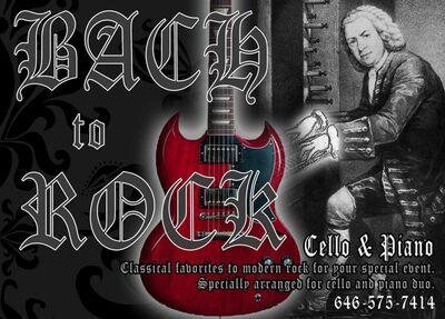 Bach to Rock Cello & Piano Duo