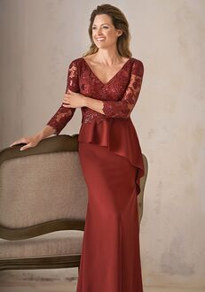 Jade Couture Mother of the Bride by Jasmine K208001 Red Mother Of The Bride Dress