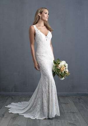 Allure Couture C482 Sheath Wedding Dress