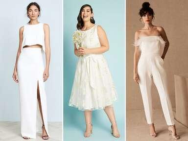 Elopement wedding dress ideas