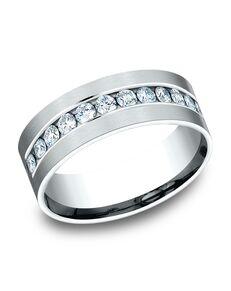 Benchmark CF528531W White Gold Wedding Ring