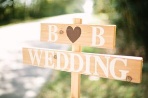 Brittany and Blake's Outdoor Washington Grass Inn Wedding