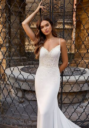 Moonlight Couture H1470 Mermaid Wedding Dress