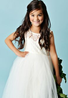 FATTIEPIE elizabeth lace Flower Girl Dress