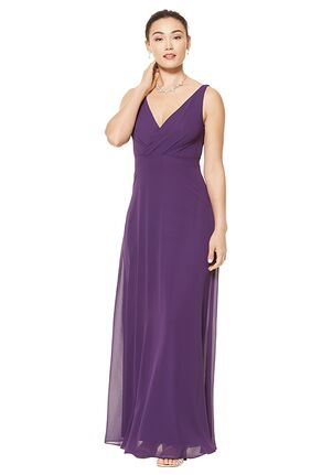 #LEVKOFF 7101 V-Neck Bridesmaid Dress