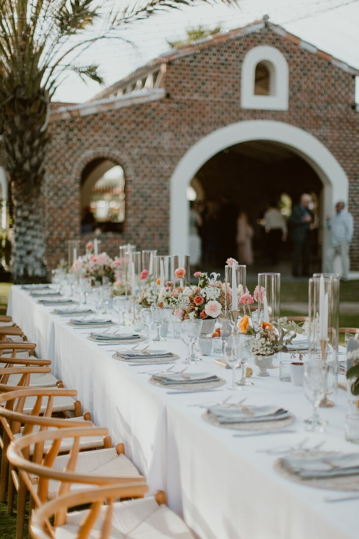 Romantic Reception at Flora Farms in San Jose del Cabo, Mexico