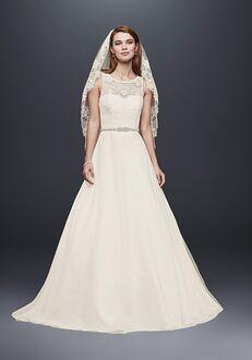 David's Bridal David's Bridal Collection Style WG3711 A-Line Wedding Dress
