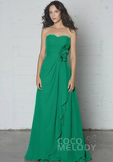 CocoMelody Bridesmaid Dresses COSF14002 Sweetheart Bridesmaid Dress