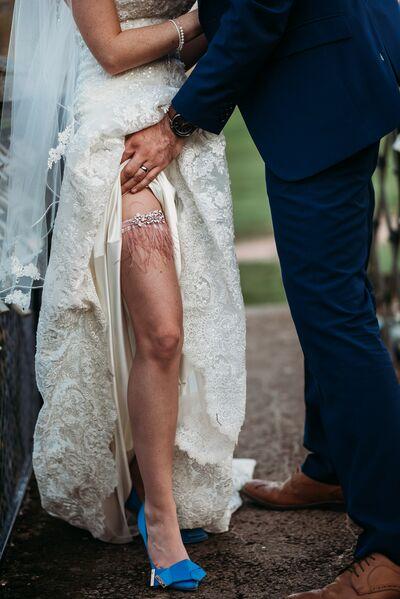 Lew Elle Wedding Garters