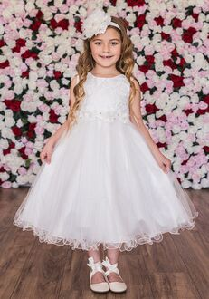 Kid's Dream 468 Ivory Flower Girl Dress