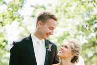 Allison planned her day around an elegant garden theme—a nod to her love of flowers and gardening.
