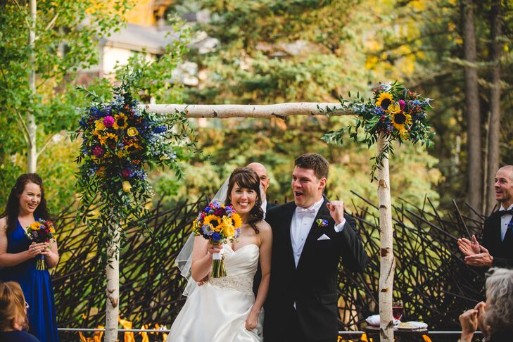 Kimberly and Charles Recessional in Colorado