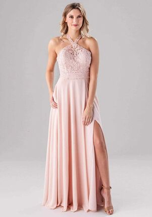 Kennedy Blue Clara Halter Bridesmaid Dress
