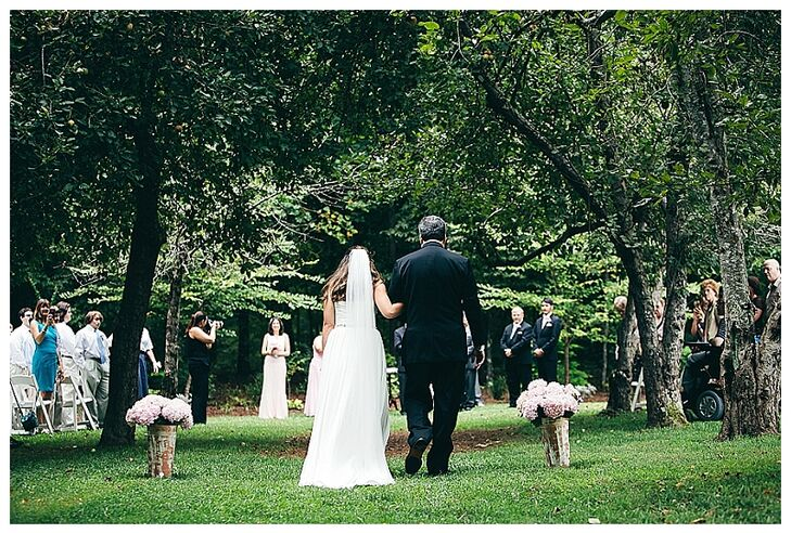 Emily and Keith's Outdoor Summer Ceremony