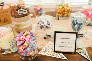 Delicious Candy Dessert Treats