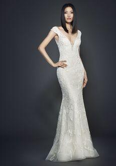 Lazaro 3707 Sheath Wedding Dress