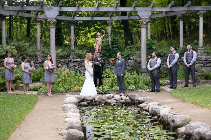 Italian Garden Outdoor Ceremony