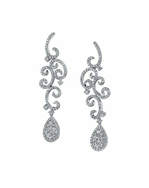 Parade Designs E3174A from the Lumiere Collection Wedding Earrings photo
