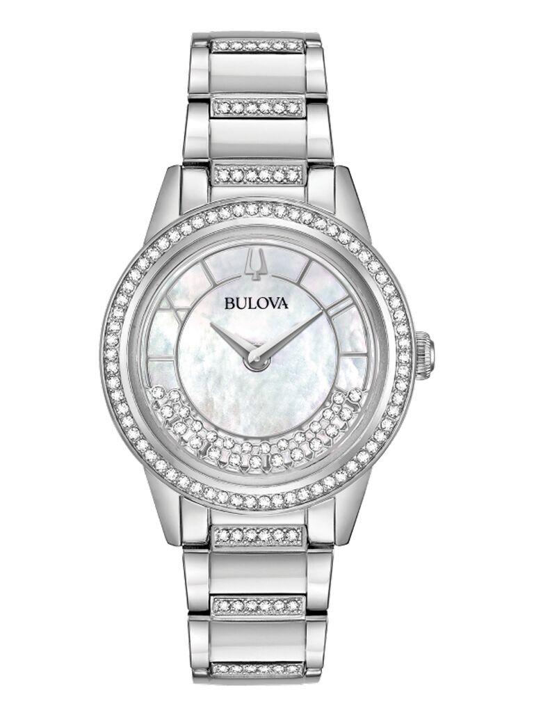 Bulova crystal watch 15-year anniversary gift