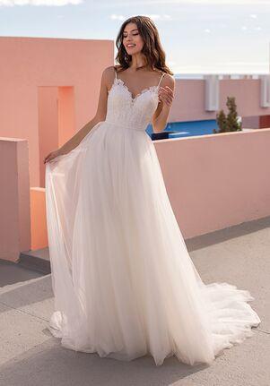 WHITE ONE ESSENTIALS CELANDINE Ball Gown Wedding Dress
