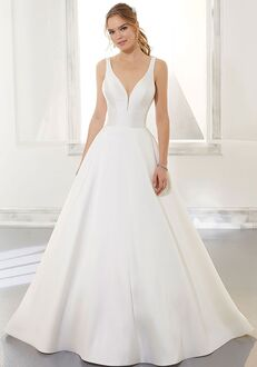 Morilee by Madeline Gardner/Blu Amy A-Line Wedding Dress