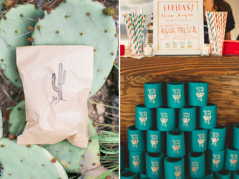 New Mexico wedding favors