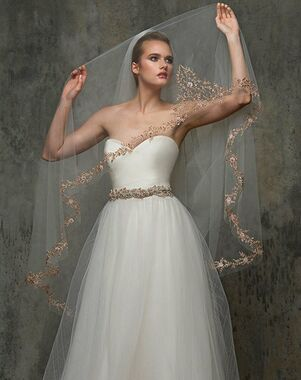 Blossom Veils & Accessories BV1473 Ivory Veil