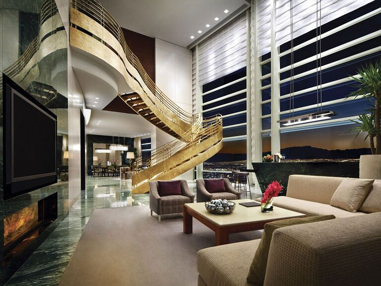 The Sky Villa at the Aria Resort and Casino in Las Vegas, Nevada