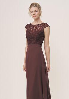 JASMINE P196055 Bateau Bridesmaid Dress