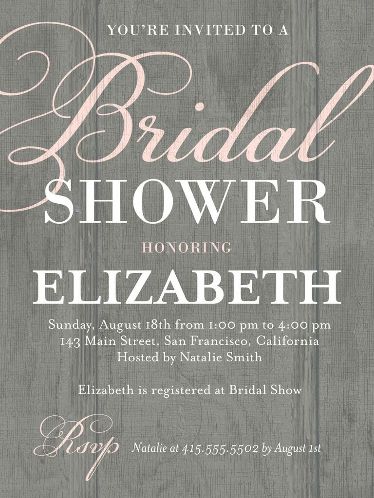 30 Affordable Bridal Shower Invitations