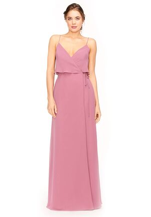 Bari Jay Bridesmaids 1973 V-Neck Bridesmaid Dress