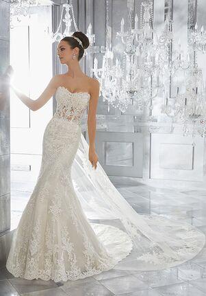Morilee by Madeline Gardner/Blu Marni   Style 5572 Mermaid Wedding Dress