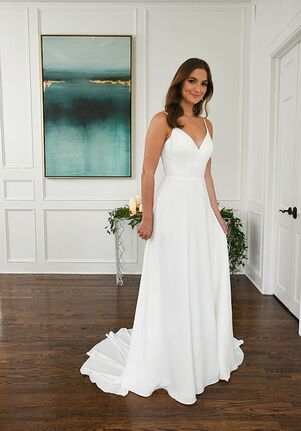 Essense of Australia D3283 A-Line Wedding Dress