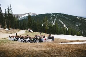 An Outdoor Ceremony at Timber Ridge Lodge