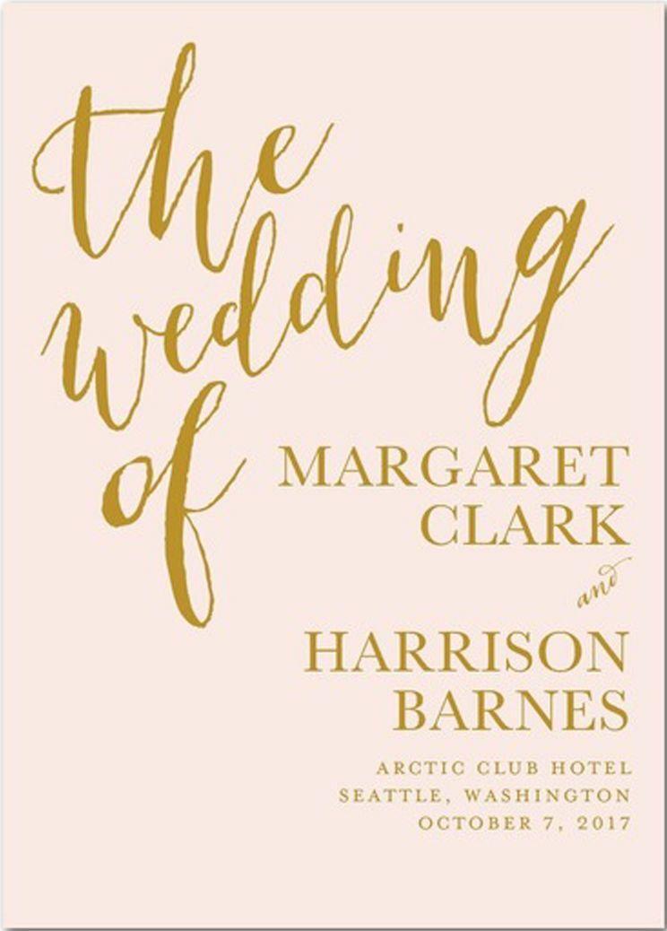 methodist wedding program wording