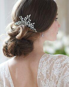 Dareth Colburn Nova Bridal Comb (TC-2418) Silver Pins, Combs + Clip
