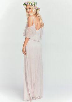 4e1038e513f Show Me Your Mumu Caitlin Ruffle Maxi Dress - Magic Mauve Glimmer Scoop  Bridesmaid Dress
